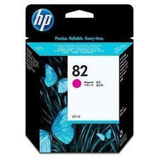 GENUINE AUTHENTIC HP HEWLETT PACKARD HP 82 MAGENTA INK CARTRIDGE C4912A 69ML