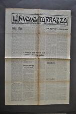 Giornale Nuovo Torrazzo Settimanale Cattolico Crema Cremona Lombardia 1936