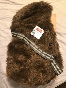 Chewbacca Star Wars Hoodie Petco Dog Costume Size XL Brand New with Tags NWT