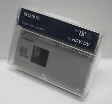 1 Sony HD HDV mini DV tape HDM-63VG for Canon Vixia HV30 HV40 HV20 camcorder