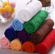 10Pcs Auto Car Home Dry Polishing Cloth Cleaning Towel Microfiber Kitchen Wash