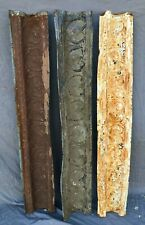 Lot of Antique Tin Ceiling Boarder Trim Large Heart Old Architectural 1207-20B