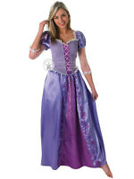 Adult Disney Rapunzel Outfit Fancy Dress Costume Princess Fairytale Tangled