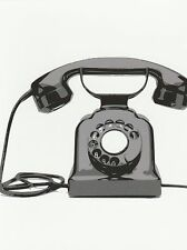 """*Postcard-""""An Old Rotary Classic Telephone""""  (Picture on Postcard) (B-459)"""