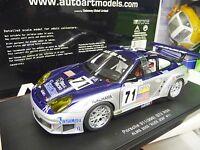 1:18 Autoart PORSCHE 911 996 GT3 RSR ALMS Le Mans 2005 Alex Job #71  NEU NEW