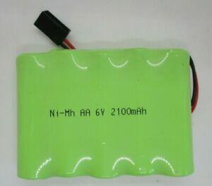 FUTABA TYPE  6  VOLT  2100MAH FLAT PACK RECEIVER BATTERY PACK NEW