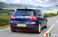 NEW GENUINE VW GOLF MK5 REAR LOWER BUMPER SPOILER SKIRT BLACK 1K6807521A9B9