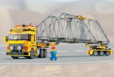 LEGO 7900 City Heavy Loader Truck Lorry Bridge Transporter  100% Complete VGC