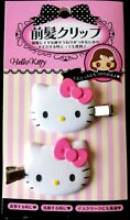 SANRIO Hello Kitty love Cute hair clip Pink accessory relief item 2 pieces set
