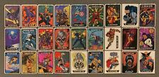 1993 Marvel Masterpieces Vending Machine Prism Stickers Card Singles You Choose