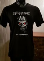 IRON MAIDEN -Book of Souls- Black Concert T-Shirt Sz M