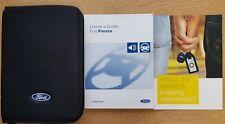 GENUIE FORD FIESTA HANDBOOK OWNERS MANUAL WALLET 2001-2005 PACK C-901