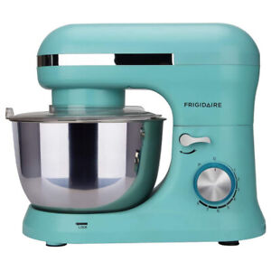 Frigidaire 4.5 Liter 8 Speed Electric Countertop Stand Mixer w/Accessories, Blue