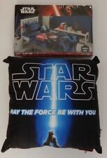 NEW Star Wars SINGLE Bed Quilt Doona Duvet Cover DV RULES + Matching Pillow