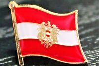 AUSTRIA Austrian Metal Flag Lapel Pin Badge *NEW*