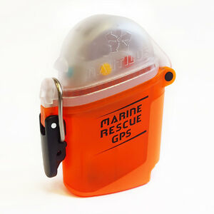 Nautilus LifeLine Marine Rescue GPS Submersible Dive Alert Scuba Swimmer Orange