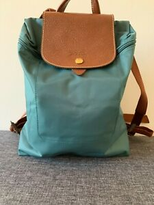 Authentic Longchamp Green Backpack RRP195.00 - Express Post