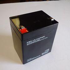 12V 5AH SLA Sealed Alarm System Lead Acid Battery for Verizon and more