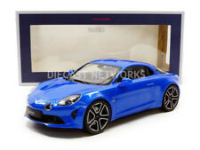 Norev Renault Alpine A110 Premiere Edition 2017 Blue Metallic 1/18 Scale New!