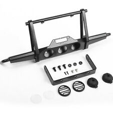 RC4WD VVV-C0956 Shirya Front Winch Bumper Black w/ Lights : Vanquish VS4-10