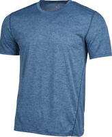 Ideology Mens Core Crew Neck T Shirt With Mesh Size Large Blue
