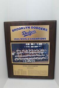 1955 Brooklyn Dodgers World Champion Plaque*