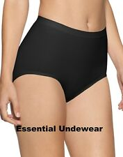 SEAMLESS KNITTED LIGHT CONTROL MAXI BRIEFS KNICKERS, S - XXXL, 8-30, ONLY £3.99