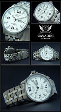 CAVADIN MASSIVE TITAN-BLACK HAWK FLIEGER UHR JAPAN-AUTOMATIK MYOTA NEUS MODEL