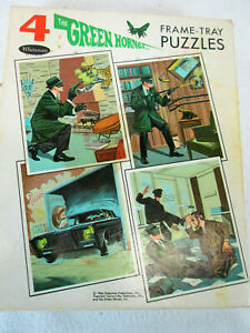 Vintage 1966 Whitman The Green Hornet frame tray puzzle set (box only)