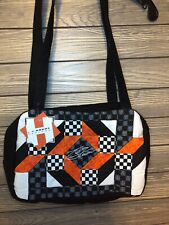NWT Tony Stewart Racing NASCAR quilted fabric purse shoulder bag mothers GIFT