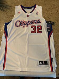 Blake Griffin LA Clippers White Adidas Basketball Jersey Large New w/ tags