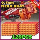 120PCS Red Refill Foam Bullet Darts For Nerf N-Strike Elite Mega Centurion