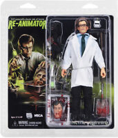 """Re-Animator Herbert West (8"""" Clothed Action Figure) horror toy collectible, NECA"""
