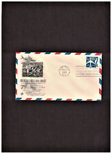 7c EMBOSSED STAMPED AIR MAIL ENV. FIRST DAY COVER SCOTT #UC33