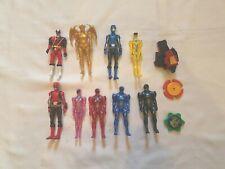 Power Rangers lot of 9 figures & miscellaneous