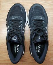 Asics Gel-Nimbus 21 Shoe for Men, Size 9.5 Extra Wide, Black/White