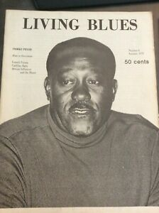 LIVING BLUES : Magazine : Number 5 : Summer 1971  immaculate unread condition