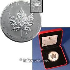 Canada 2004 Roman Zodiac Cancer Crab $5 Privy Mark Silver Maple Leaf SML in Box