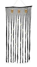 Halloween têtes de mort effrayant Rideau porte décoration TIKI barre brins 90 x
