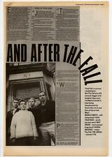 Fall The Mark E Smith Interview NME Cutting 1984