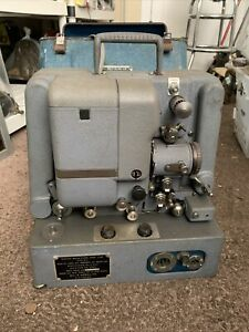 Bell & Howell 16mm Motion Picture Sound Projector US Military D-4 In Case