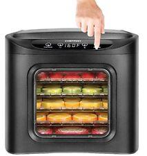 Food Jerky Dehydrator Machine 6 Tray Preserver Fruits & Vegetable Dryer Chefman