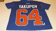 Edmonton Oilers Nail Yakupov Name Number T Shirt Age 4 Small Child Kids NHL