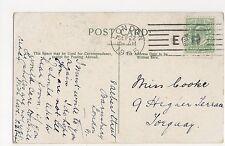 London 1905 Machine Postmark on Cannon Street Postcard, A864