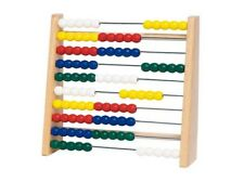 Rechenrahmen Abacus aus Holz goki Rechenschieber Zählrahmen Rechenmaschine