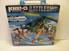 Kre-o Battleship Create it  AGes 7-14 Combat chopper 174 pieces  **New in Box**