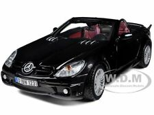MERCEDES SLK55 SLK 55 AMG BLACK 1/24 DIECAST CAR MODEL BY MOTORMAX 73292