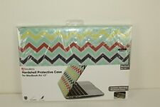 """Aduro MacBook Air 13"""" Hardshell Protective Case Chevron Cover w/keyboard cover"""