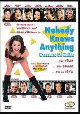 DVD - Nobody knows anything - Nessuno sa nulla -  italiano    usato