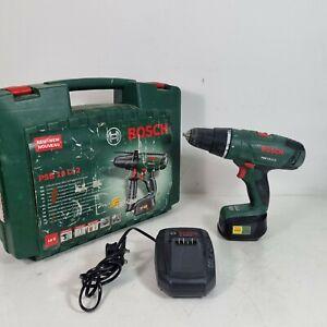 Bosch PSB 18 Li-2 Li-ion Cordless Combi Drill, 1 X 1.5Ah Battery Charger + Case